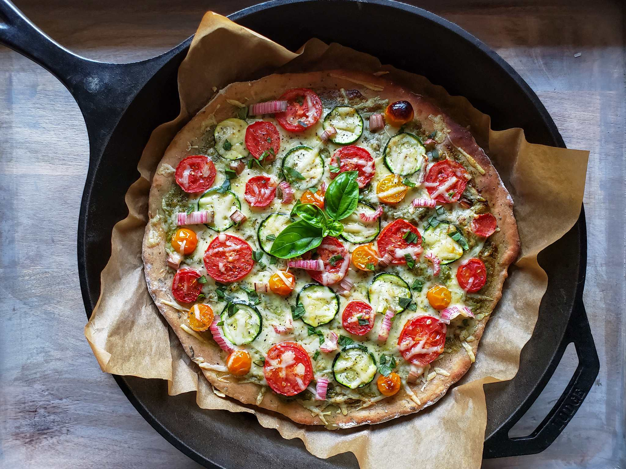 Cast Iron Whole Wheat Herb Sourdough Pizza Crust Recipe Homestead And Chill