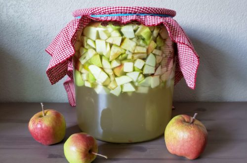 Homemade Apple Cider Vinegar Instructions