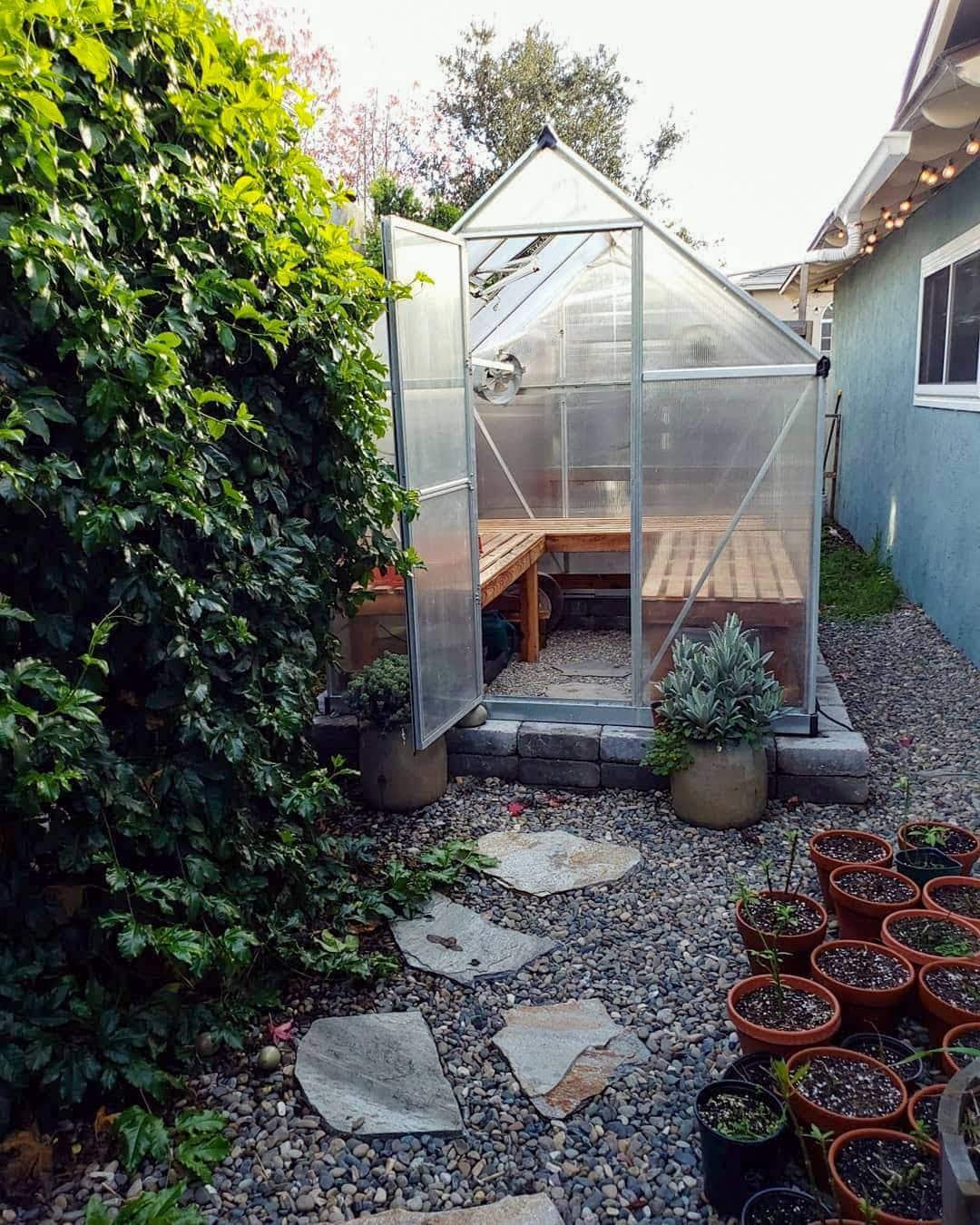 Hobby Greenhouse Homestead
