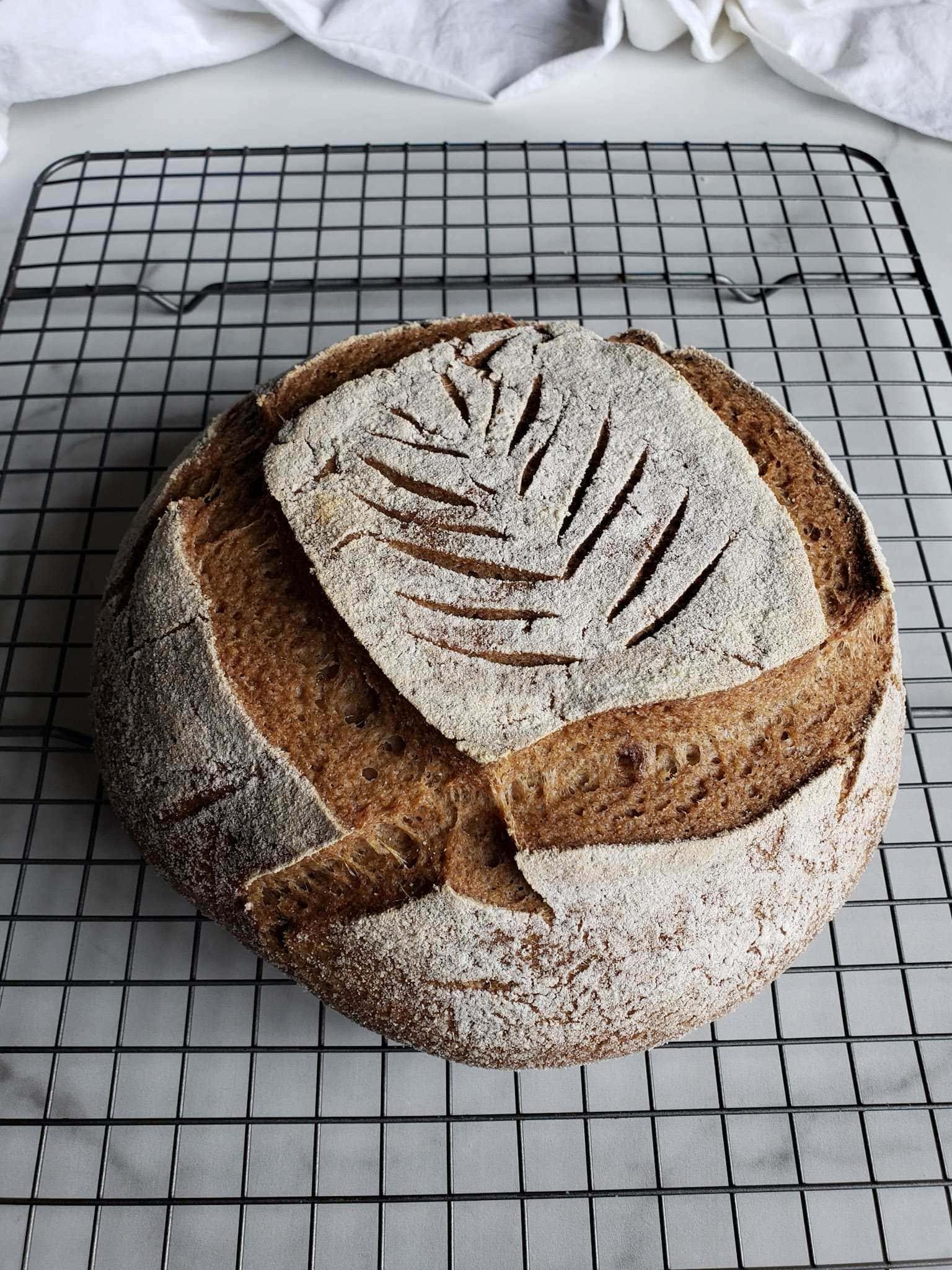 Gluten Free Sourdough Bread Recipe Boule Loaf Homestead And Chill