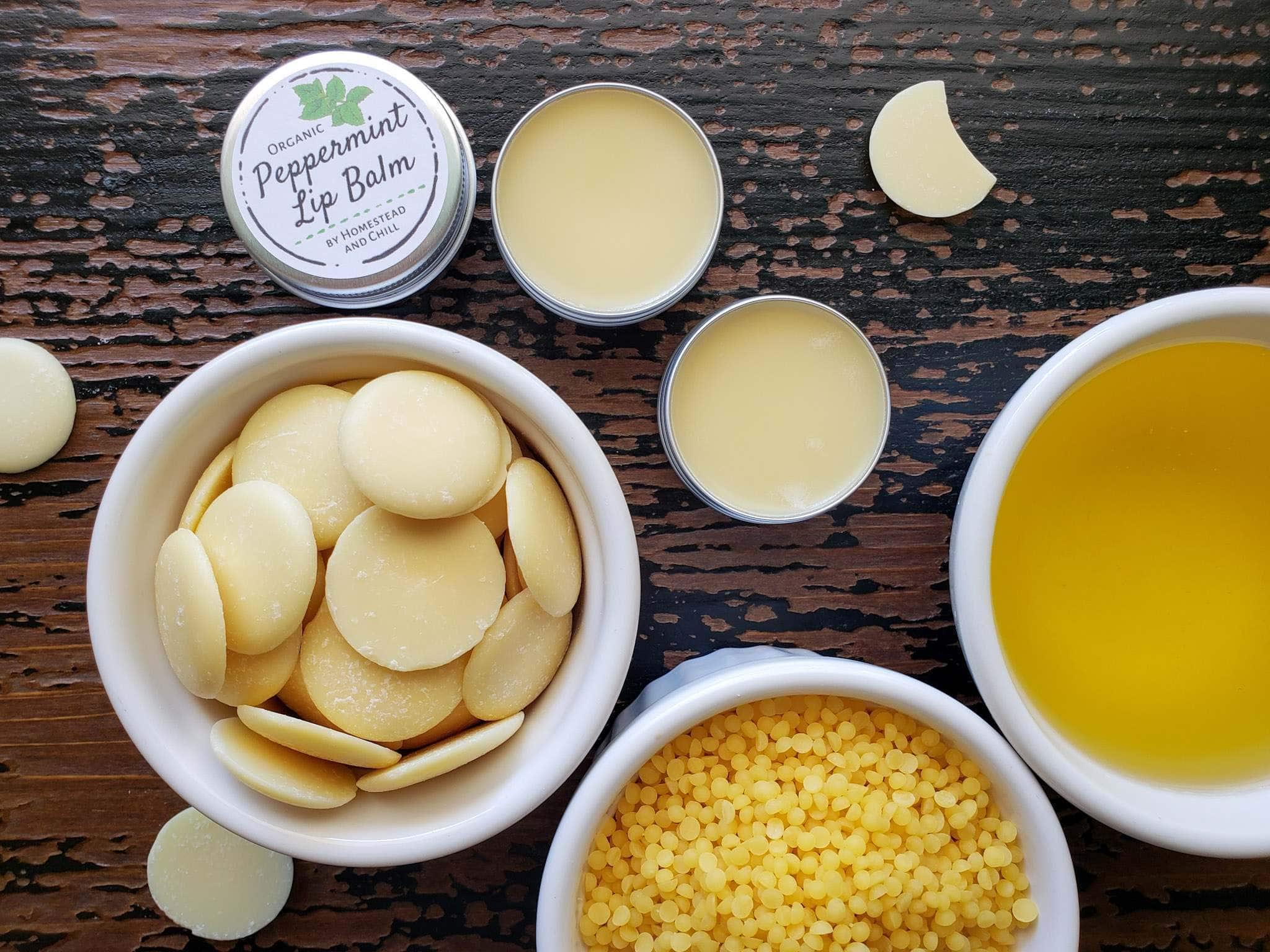 Natural Lip Balm Recipe How to Make Homemade Lip Balm
